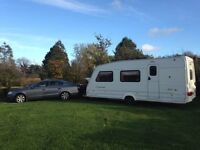 Swift Corniche Caravan 17-3, Year 2000 plus awning and extras