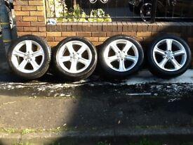 New Audi alloy wheels