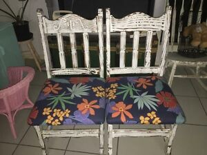 Large hand made chairs Brassall Ipswich City Preview