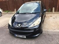 PEUGEOT 207 1.4 PETROL REG 2007 5 DOOR, READY TO DRIVE MOT 10/2017 GOOD TYRES CAR START AND DRIVE