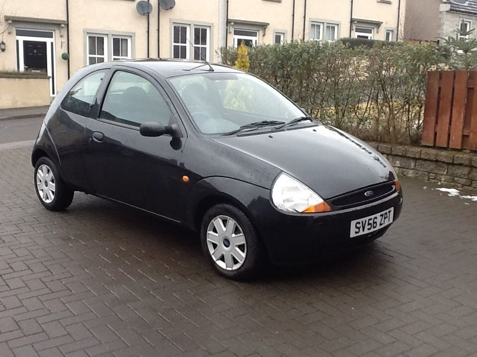 2006 56 ford ka 1 3 black mot 20th february 2018 in insch aberdeenshire gumtree. Black Bedroom Furniture Sets. Home Design Ideas
