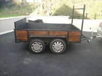 8x5 twinwheel trailer