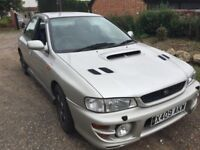 2000 W REG SUBARU IMPREZA UK TURBO MOT NOV 150K