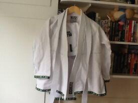 Good clean JU-JITSU suit size 16/17yrs