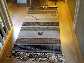 24 inches X 45 inches, Decrotive Designer Rug.