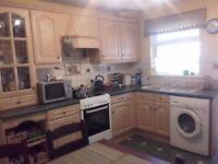 Wood effect kitchen units