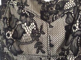 M&S black evening dress brand new - size 12