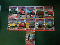 11 Back Copies/Issues of Classic & Vintage Commericals Magazines