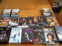 VHS Video Tapes, various artists & films