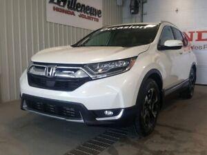 2017 Honda CR-V Touring full le plus équipé bas kilo