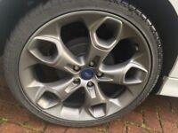 Genuine 19inch Ford wheels & Tyres. Focus,mondeo, kuga. Volvo/Jaguar 5x108