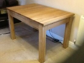 Oak Table & Chairs