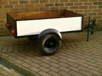 high quality car trailer with independent suspension