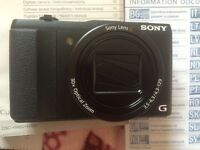 NEW Sony Cyber-shot DSC-HX60 Superzoom Compact Camera - Black