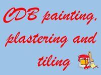 CDB painter, plasterer and tiler
