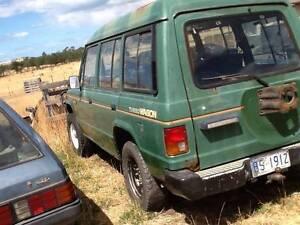 wrecking Mitsubishi  Pajeros Orielton Sorell Area Preview