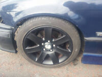 original alloy wheels for BMW 17inch , ET45 , 8J , pcd 5x120