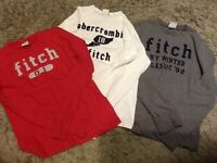 Abercrombie and Fitch t-shirts
