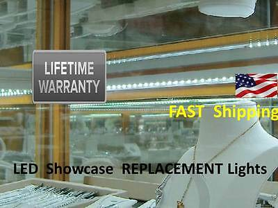 Showcase Lighting Antique Jewelry Replacement Universal 300 Led Light Kit