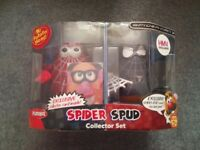 Spiderman Mr Potato Head figures