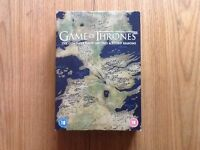 Game of thrones box set first second and third season
