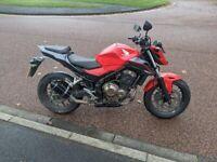2016 Honda CB500F - A2 Legal