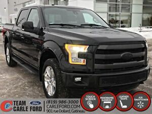 Ford F-150 Lariat 2016, GPS, CUIR, TOIT PANORAMIQUE