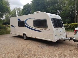 2013 Bailey Pegasus Milan 4 berth caravan MOTOR MOVER FITTED Awning BARGAIN ! January Sale
