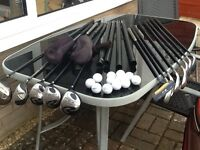 GOLF CLUBS full set & BAG (used)