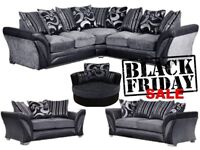 Brand Black Friday corner or 3+2 sofa for sale fast delivery