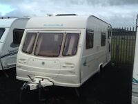 2002 AVONDALE dart 556/6 berth fixed bunk beds awning & extras