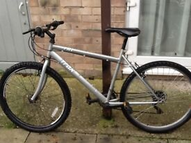 £35 nice bike in good working order 26 wheel 19 frame 18 gears can deliver for petrol cost