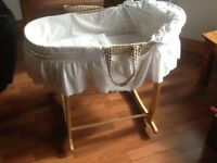 Baby cot & stand