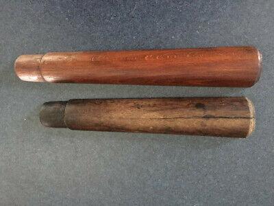 Two timber handguards to suit German Gew 98 or Kar 98k rifle.
