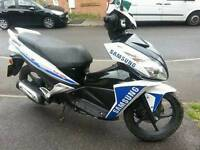 Honda nsc 50cc r sporting scooter