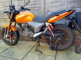 Keeway RKV 125cc Motor Bike