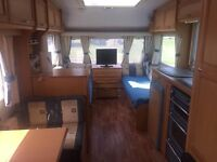 Compass Mendip Magnum 556 (2005) caravan for sale