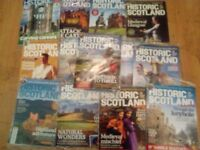 13 x Historic Scotland Magazines (mint condition)