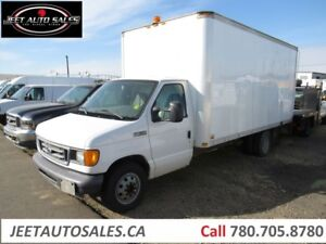 2006 Ford E-350 16ft Cube Van Gas