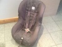 Britax Eclipse group 1 car seat for 9mtns upto 4yrs-checked,washed and cleaned,reclines