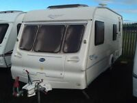 2003 Bailey ranger 550/6 berth with fixed bunk beds