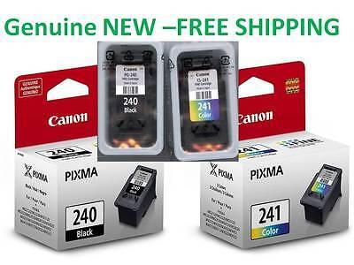 Genuine Canon 240/241 Original ink cartridge combo for MG3520 MG3620 printer-new ()
