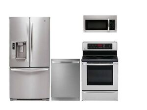 LG Stainless Steel Kitchen Appliance Package LFX31945ST