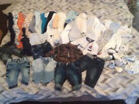 Baby boys cloths 0-3 month
