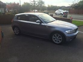 BMW 1 Series in great condition with full service history in a beautiful metallic grey!