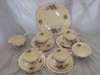 Gainsborough Blue Floral Tea Set
