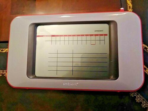 Ambient Baseball ScoreCast Score Board Model #BBSB01
