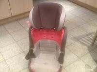 £25-lightweight full highback booster car seat for 4yrs upto 12yrs(15kg upto 36kg)washed and cleaned