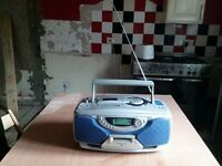 Radio ,CD,cassette. mint condition