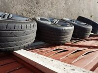 Genuine Audi RS6 Alloys for sale - With tyres, No buckles / Welds